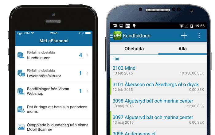 Visma eEkonomi App