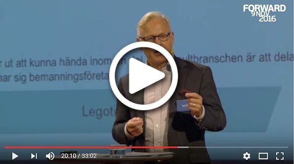 Bengt Skoughs föreläsning på Visma Forward 2016
