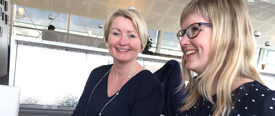 Birgitta Åhlander och Sofia Bergman, KPMG