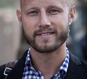 Pontus Wadström är forskare vid Kungliga Tekniska Högskolan