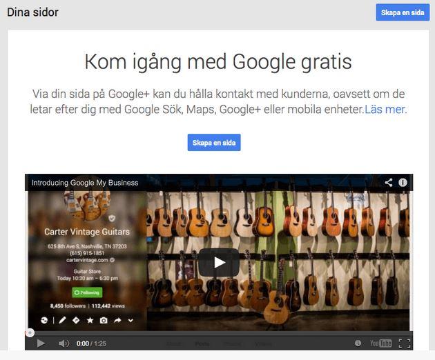 Synas på nätet Visma Spcs Google MyBusiness