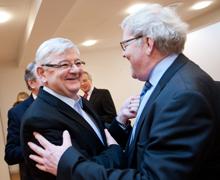 Hur inleder du en affärsrelation med en tysk företagskollega?