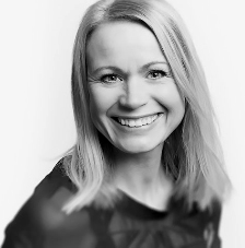 Anna Lovén, frisör och egenföretagare på Salong Unik i Växjö