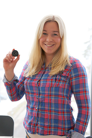 Camilla Ljunggren startade sin  bana som företagare och  entreprenör med Pluring
