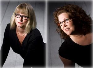 Under de 18 år som Cilla Pettersson (t. vänster) och  Susanna Eriksson har drivit företag tillsammans, har  de aldrig blivit osams.