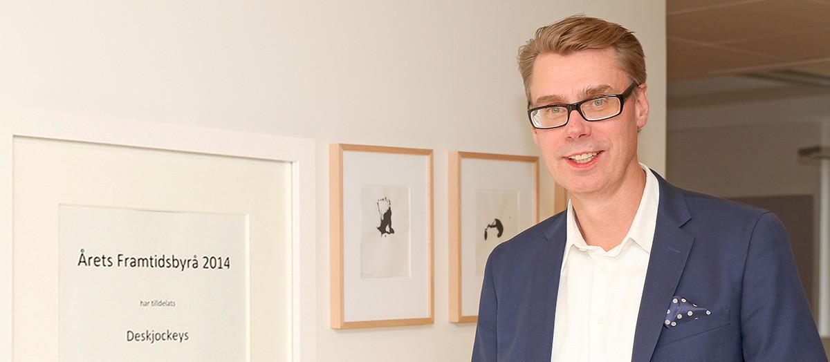 Deskjockeys, Peter Rexhammar, årets framtidsbyrå 2014