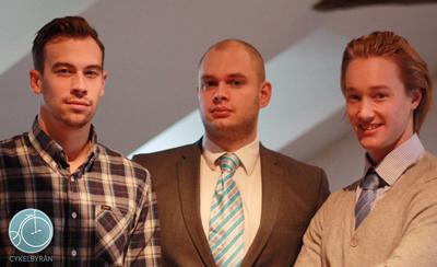 Gänget från Cykelbyrån tror på en grön företagarframtid.