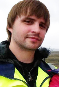 John Lundhom, 27, är vd för företaget Ice Sport i Jättendal  i norra Hälsingland mellan Hudiksvall och Sundsvall.