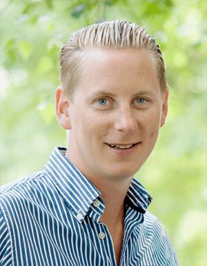 Kalle Ekstrands företag har i dag sju anställda,  men hoppas snart på att bli åtta.