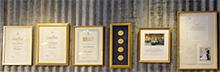 Fyra gånger har Maria fått äran att hjälpa till  vid Nobelfesten.