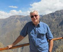 Michael Pannagel erbjuder upplevelseresor till alla  världens hörn. Här är han i Perus Colca Canyon,  där Michael var färdledare för en av företagets  resegrupper.