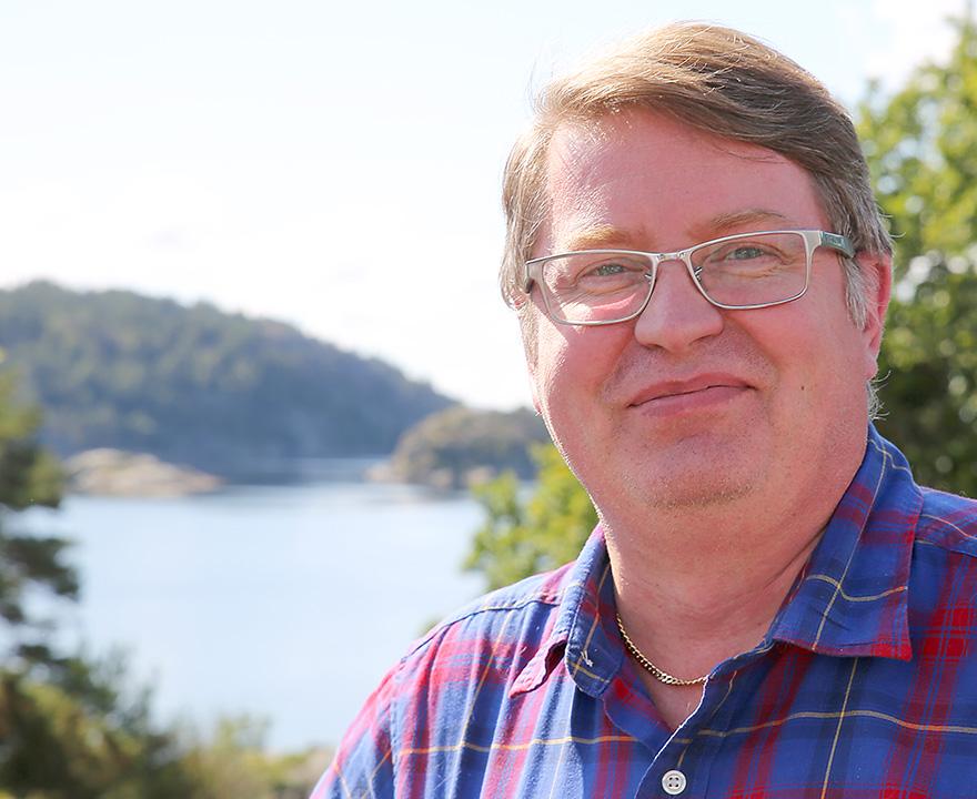 Pär Henriksson  på Ore Data & Administration