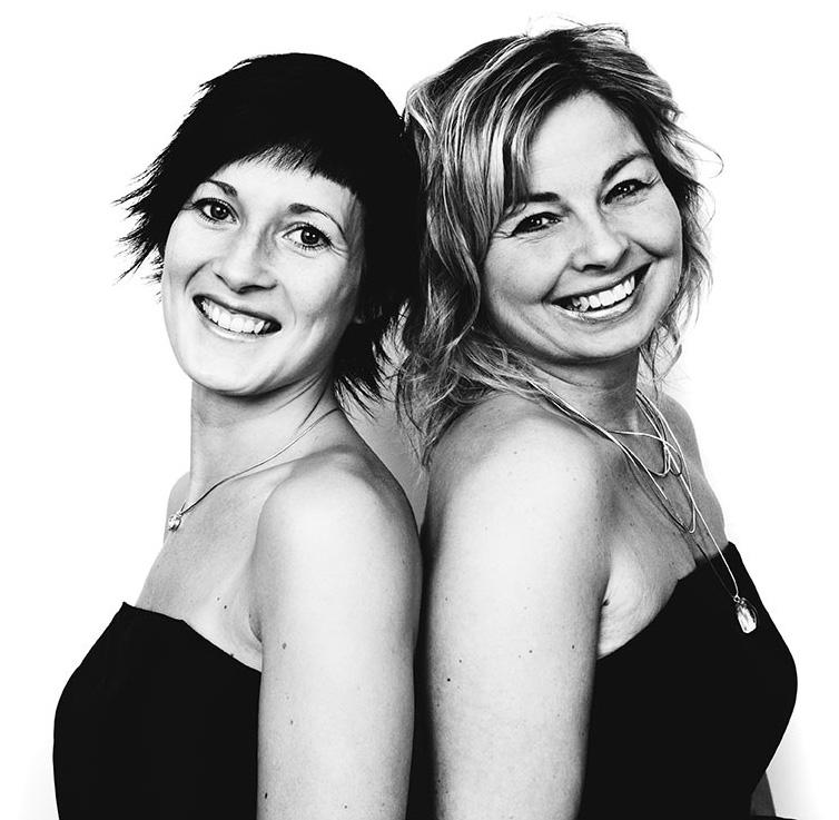 Marie Lindqvist-Pahlstad och Jenny Helldén