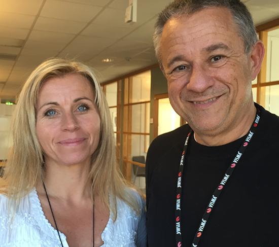 Lotta Krondahl och Boo Gunnarson Visma Spcs