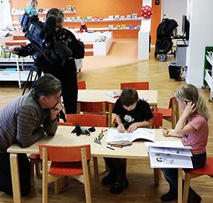 Media uppmärksammar målarboken Våga måla