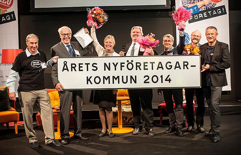 """Simrishamn är """"Årets nyföretagarkommun"""" i Sverige 2014."""
