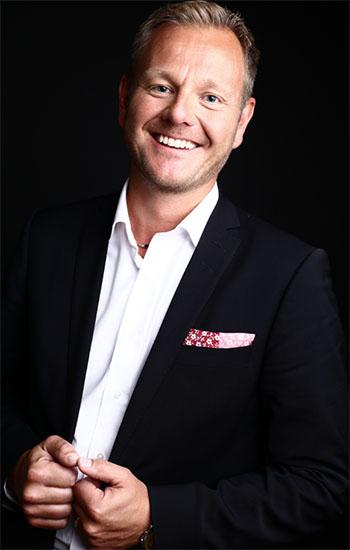 Anders Lindén, försäljningschef på Visma Collectors
