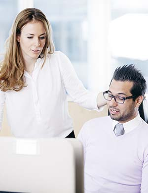 Support i affärssystem med Visma
