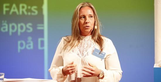 Anna-Bella Packwood, redovisningsbyrån Deskjockeys, berättar om deras förändringsresa på Visma Forward 2016