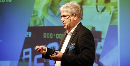 Stefan Andersson, KPMG, om hur redovisningsjätten förbättrar interna processer och arbetar i molnet, Visma Forward 2016