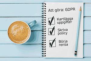 GDPR-checklista
