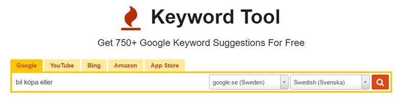 Relaterade sökningar från Keywordtool.io