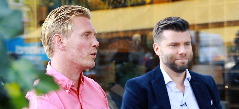 Kristofer och Per från Kite Sverige