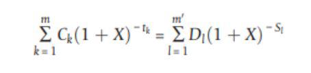 Effektiv ränta formel
