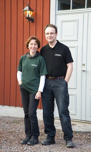 Björn och Sylvia förvandlade gård till bryggeri