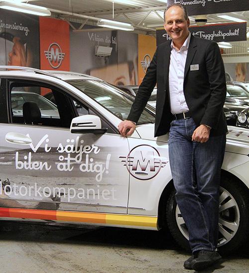 Göran Céwe är vd för Svenska Motorkompaniet