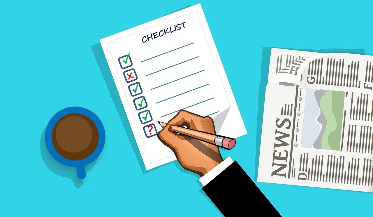 Starta företag checklista